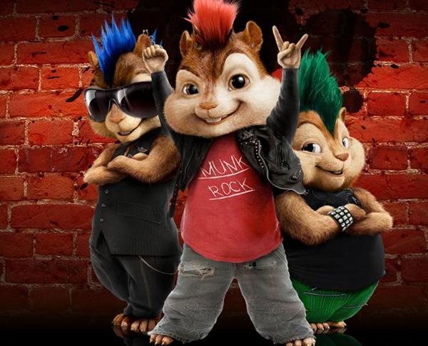 image d' Alvin et les Chipmunks