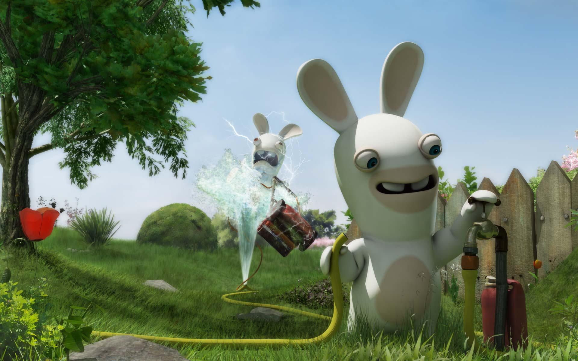 image lapins cretins