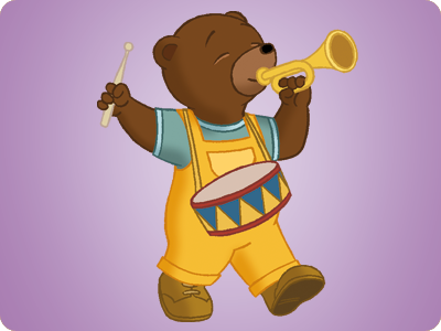 image petit ours brun