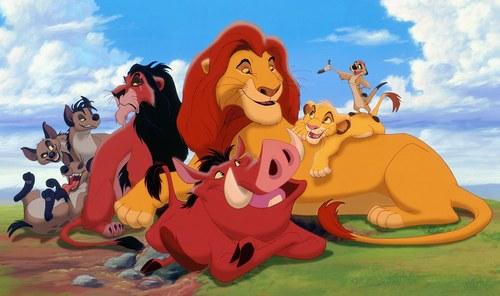 image roi lion imprimer
